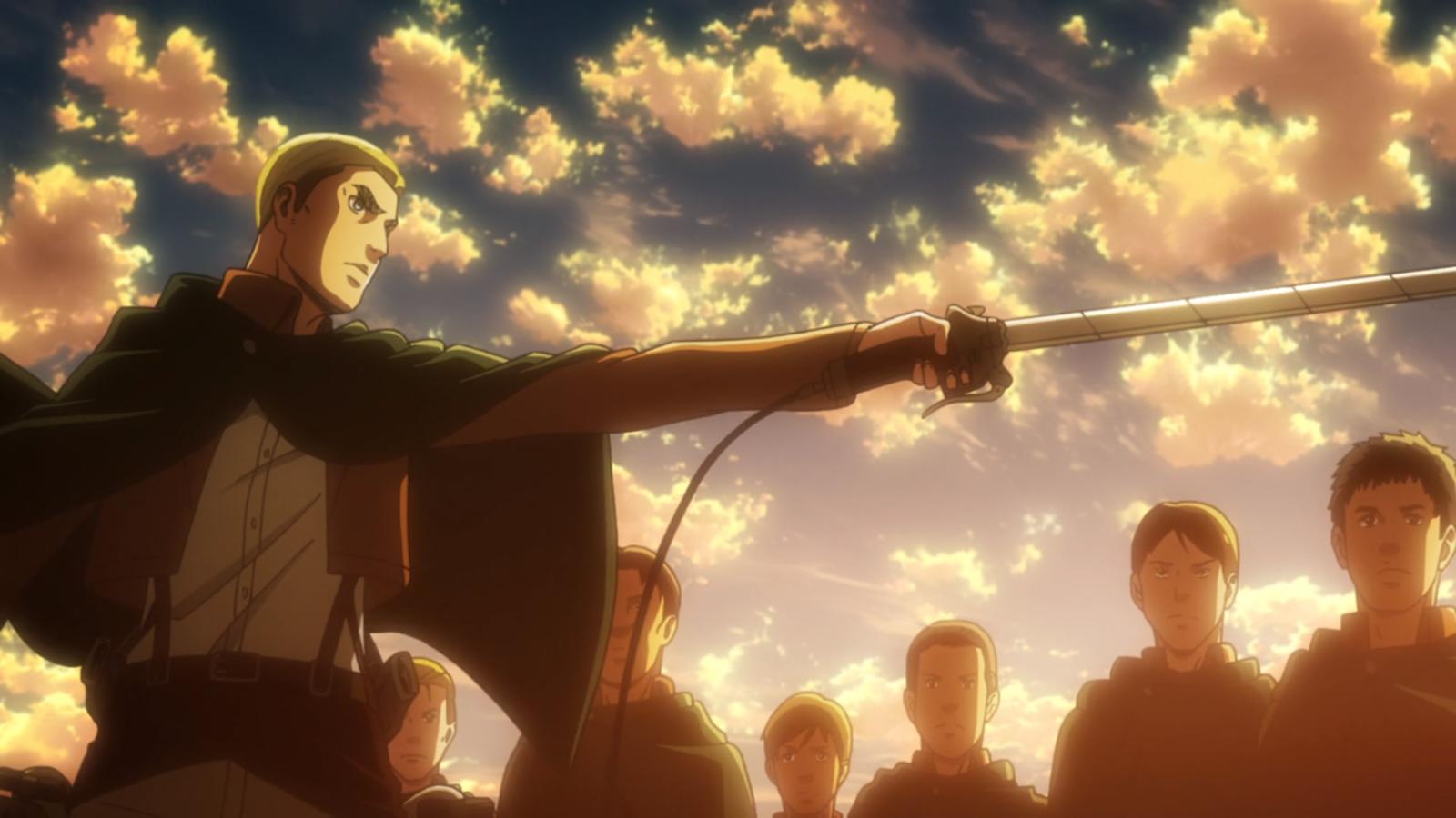 Erwin Begins The Operation To Retake Wall Maria Attack On Titan Attack On Titan Anime Anime Guys