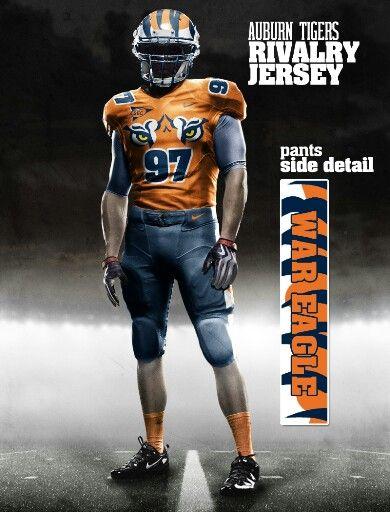 8f49e41bf79 Auburn concept uniform | auburn tigers | Auburn football, College ...