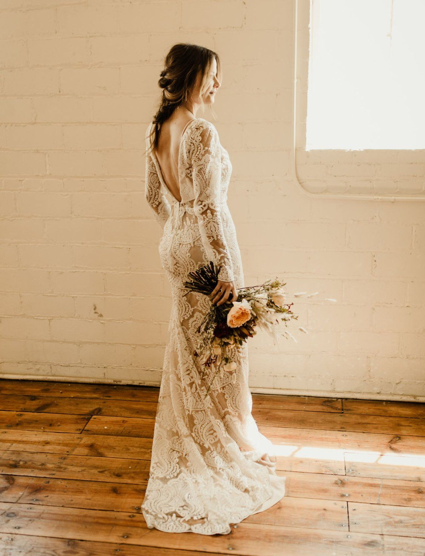 Long Sleeve Lace Wedding Dress Earthy Wedding Dresses Wedding Renewal Dress Long Sleeve Wedding Dress Lace