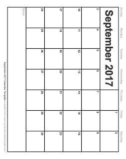 Free Printable Calendar September June Calendar Printable