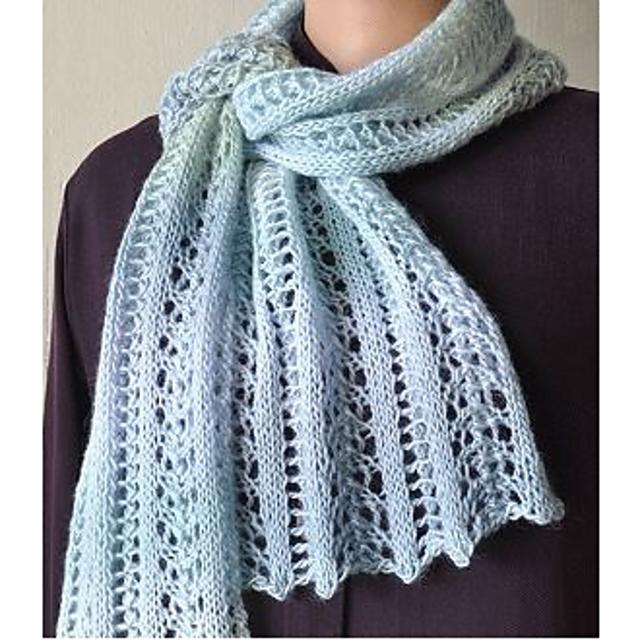 Mini Mochi Easy Lace Scarf pattern by Melanie Lewis   Lace ...