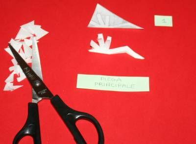 Fiocchi Di Neve Di Carta Tutorial : Tutorial fiocchi di neve di carta lapappadolce diy paper