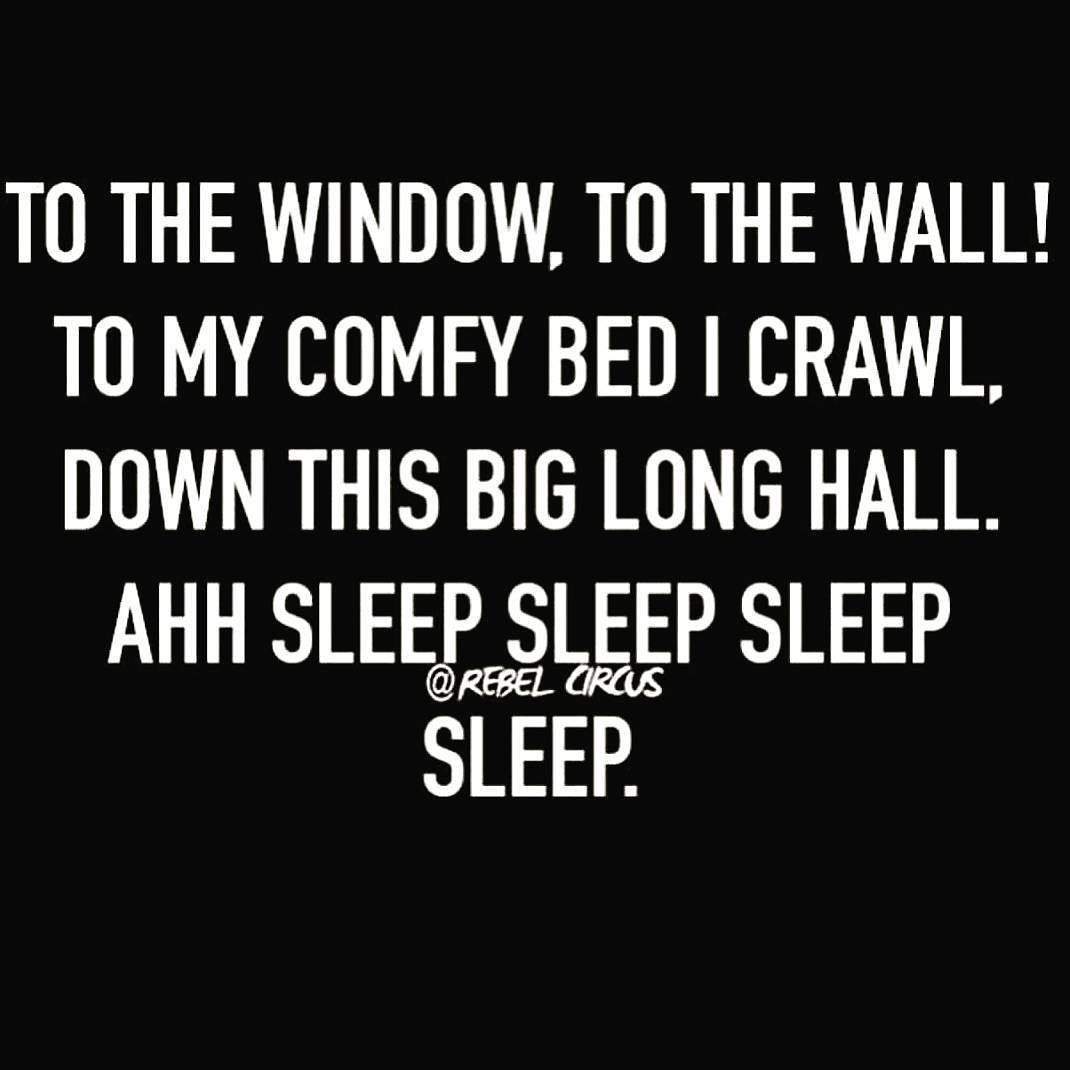 Will sleep sleep from monday to tuesday 36