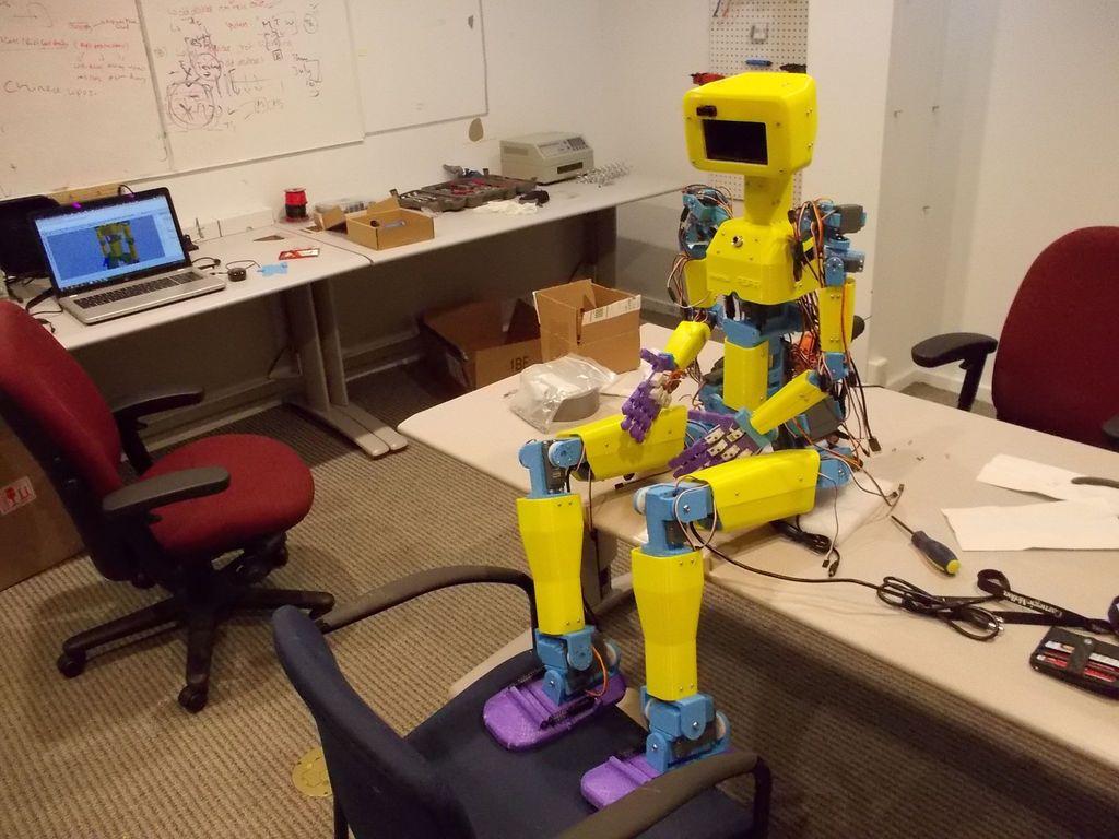 ASPIR: Full-Size 3D-Printed Humanoid Robot | Humanoid ...