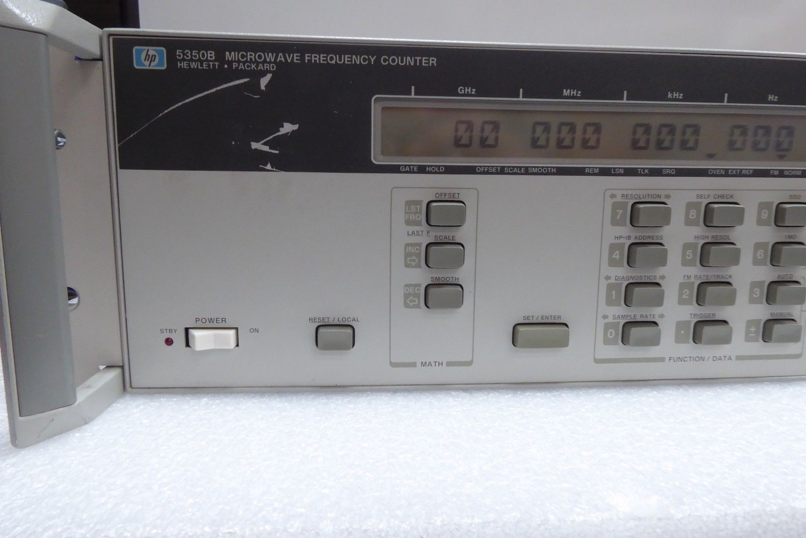 Hp 5350b Microwave Frequency Counter Opt 001 002 Oven Time Base Ebay Link