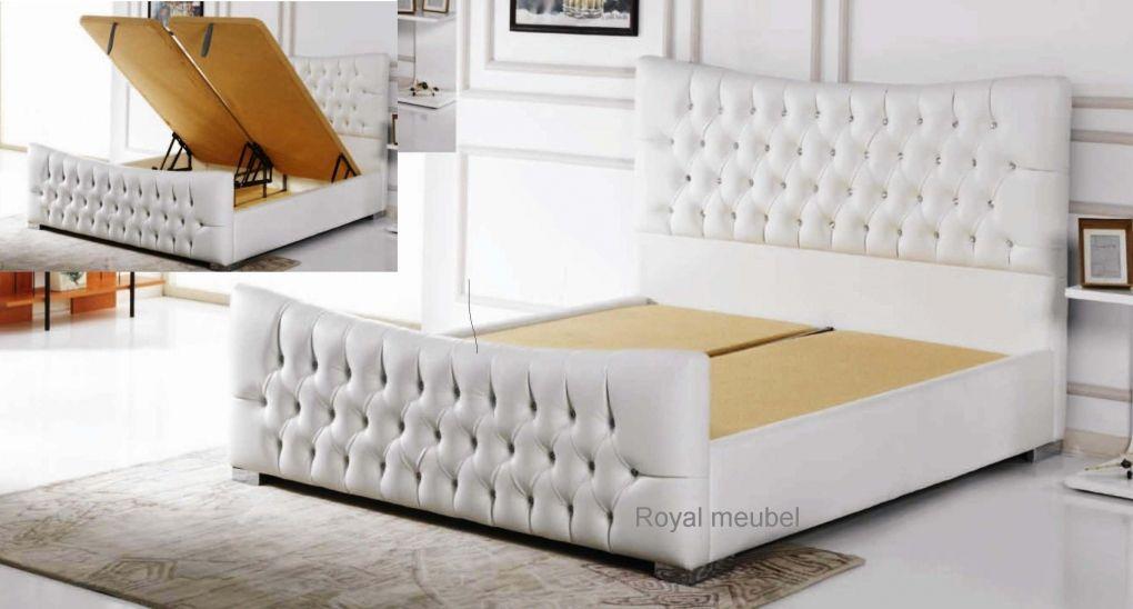 Baza bed met Opbergruimte Life swarovski   Boxsprings Royal meubel ...