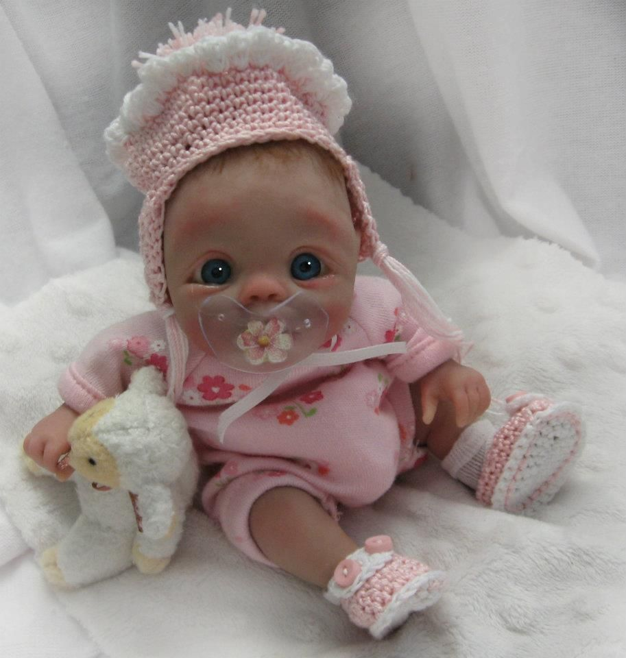 Baby doll polymer clay and tutorials pinterest