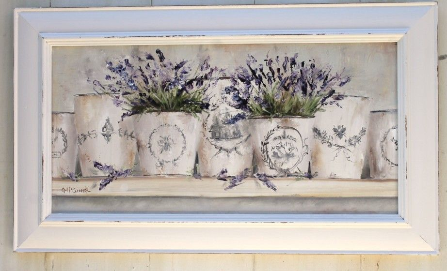 French Pots of Lavender