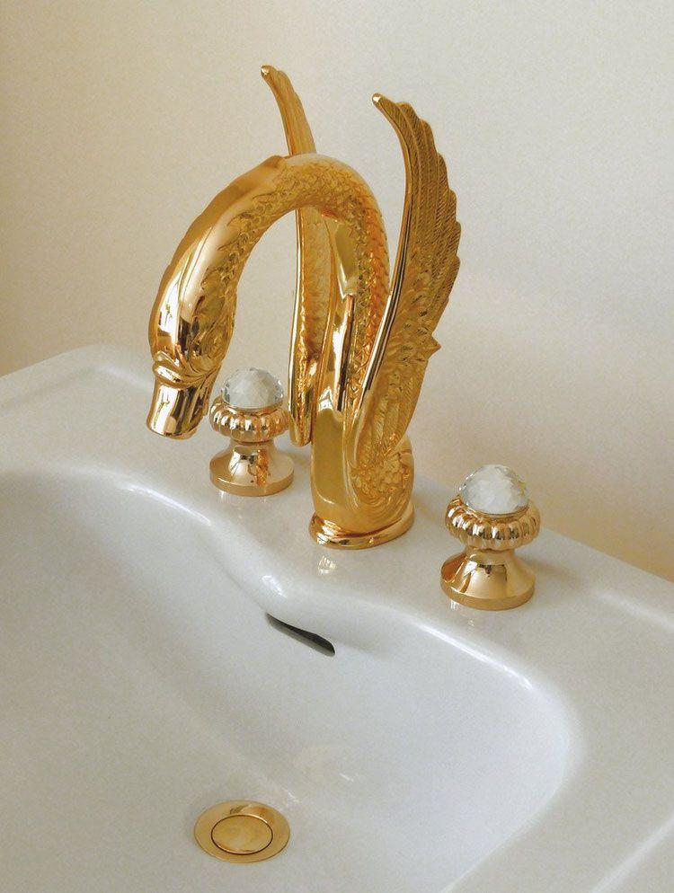 3 Loch Waschtisch Armatur The Swan Armaturen Ablaufgarnitur