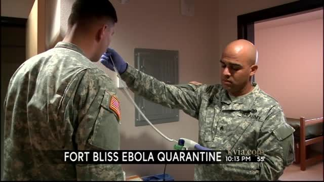 Fort Bliss gives ABC-7 tour of quarantine facilities | News  - Home