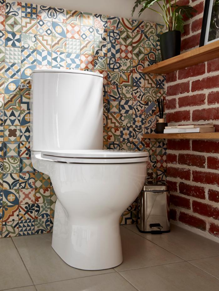 Pack Wc A Poser Sans Bride Avec Sortie Horizontale Goodhome Cavally Wc A Poser Toilettes Deco Toilettes