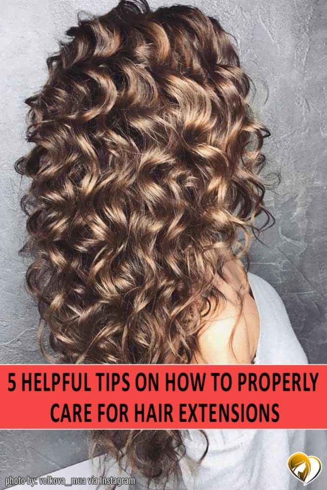 How To Care For Hair Extensions Hair Extensions And Extensions