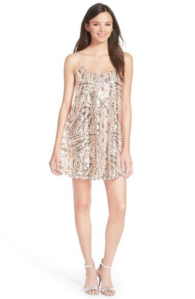 Love Nickie Lew Sequin Slipdress Available At Nordstrom Semi