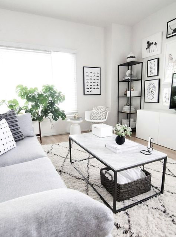 30 Clean And Simple Design Ideas For The Minimalist Living Room