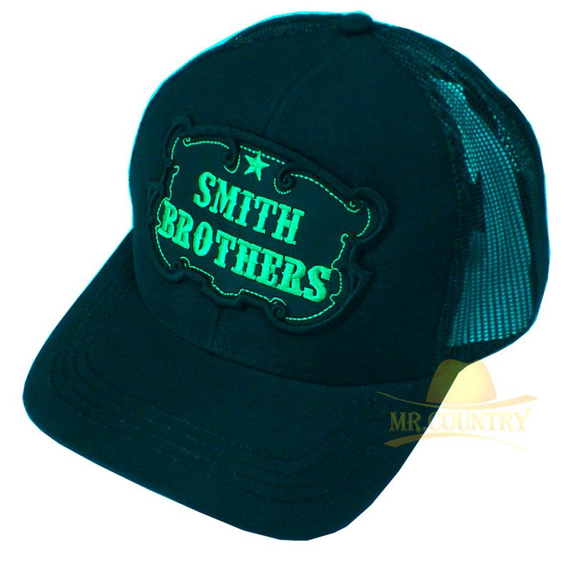 c2cf4edd09f56 Boné Smith Brothers Bordado c  Telinha