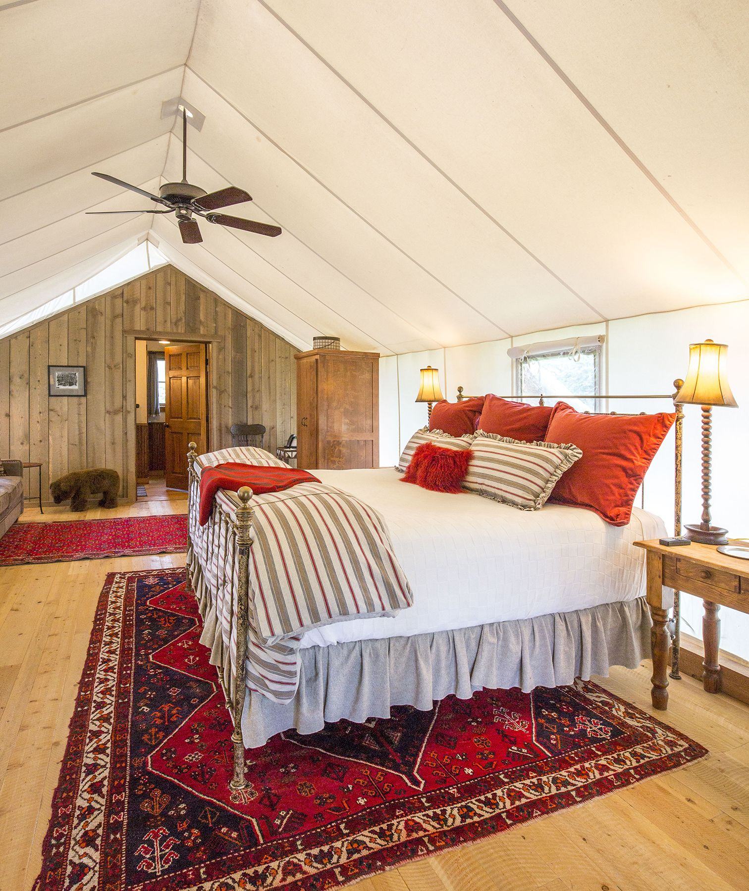 glamping destinations across the us in american wes