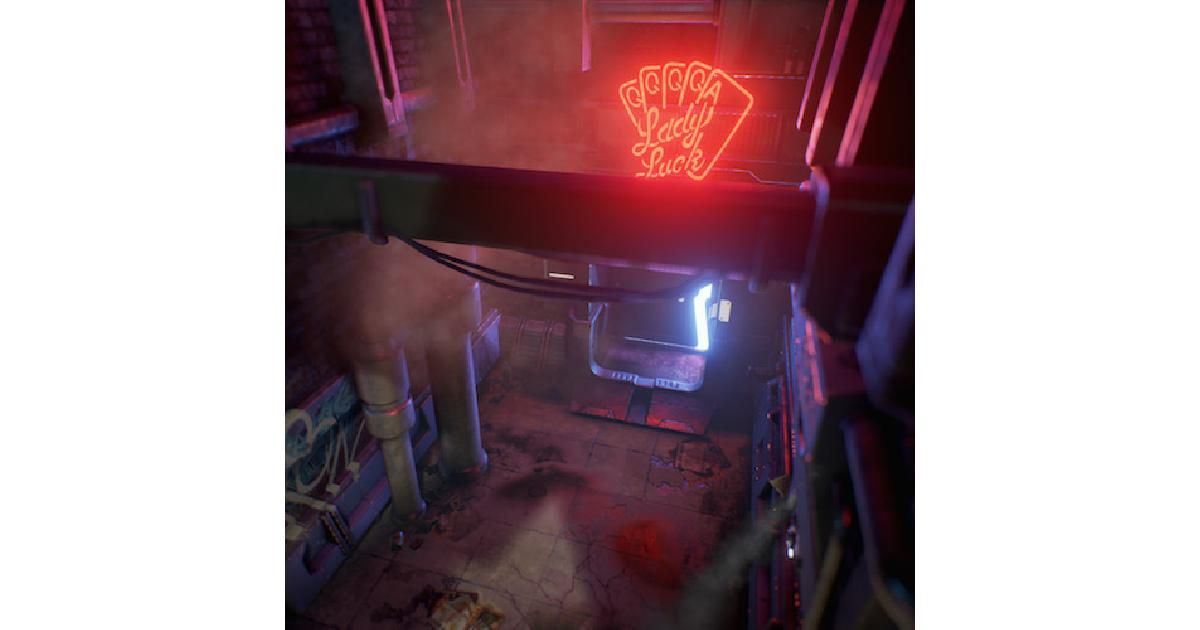 Cyberpunk Alley: AAA-environment with Accessible Tools - http://80.lv/articles/cyberpunk-alley-aaa-environment-with-accessible-tools/ #ThisIsSubstance #gamedev