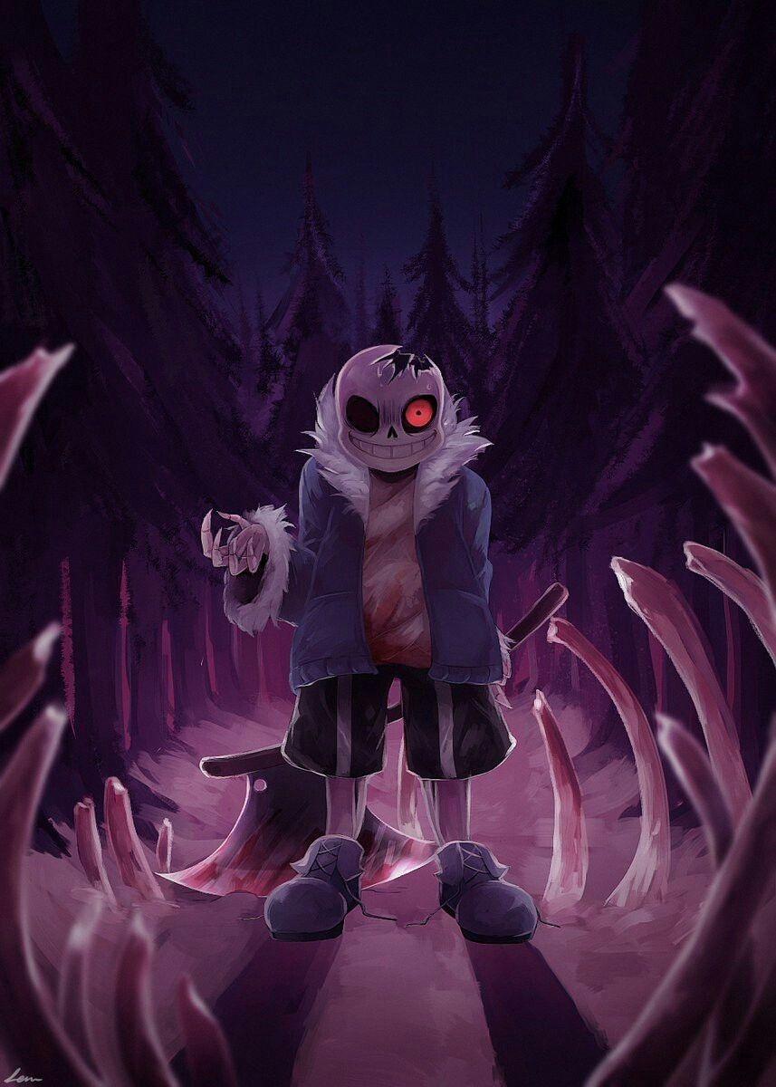 Alternative Universe Horror Sans Undertale Undertale Cute