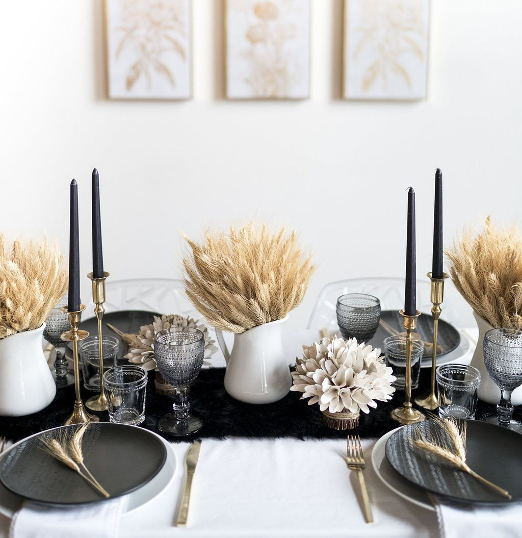 39 Awesome Modern Table Setting Ideas Thanksgiving Table Decorations Dinner Table Decor Thanksgiving Table Settings