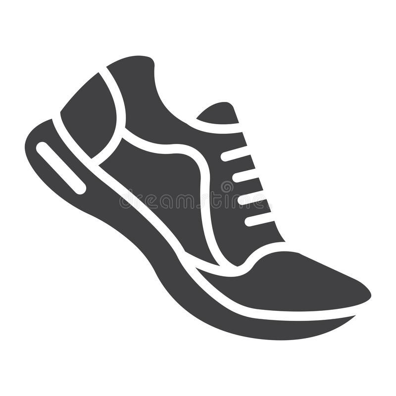 Running Shoes Glyph Icon Fitness And Sport Gym Sign Vector Graphics A Solid P Spon Sport Fitness Sign Gym Glyph Icon Shoes Clipart Running Shoes