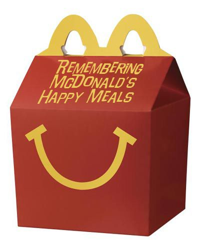 Mcdonalds Happy Meal Box Template