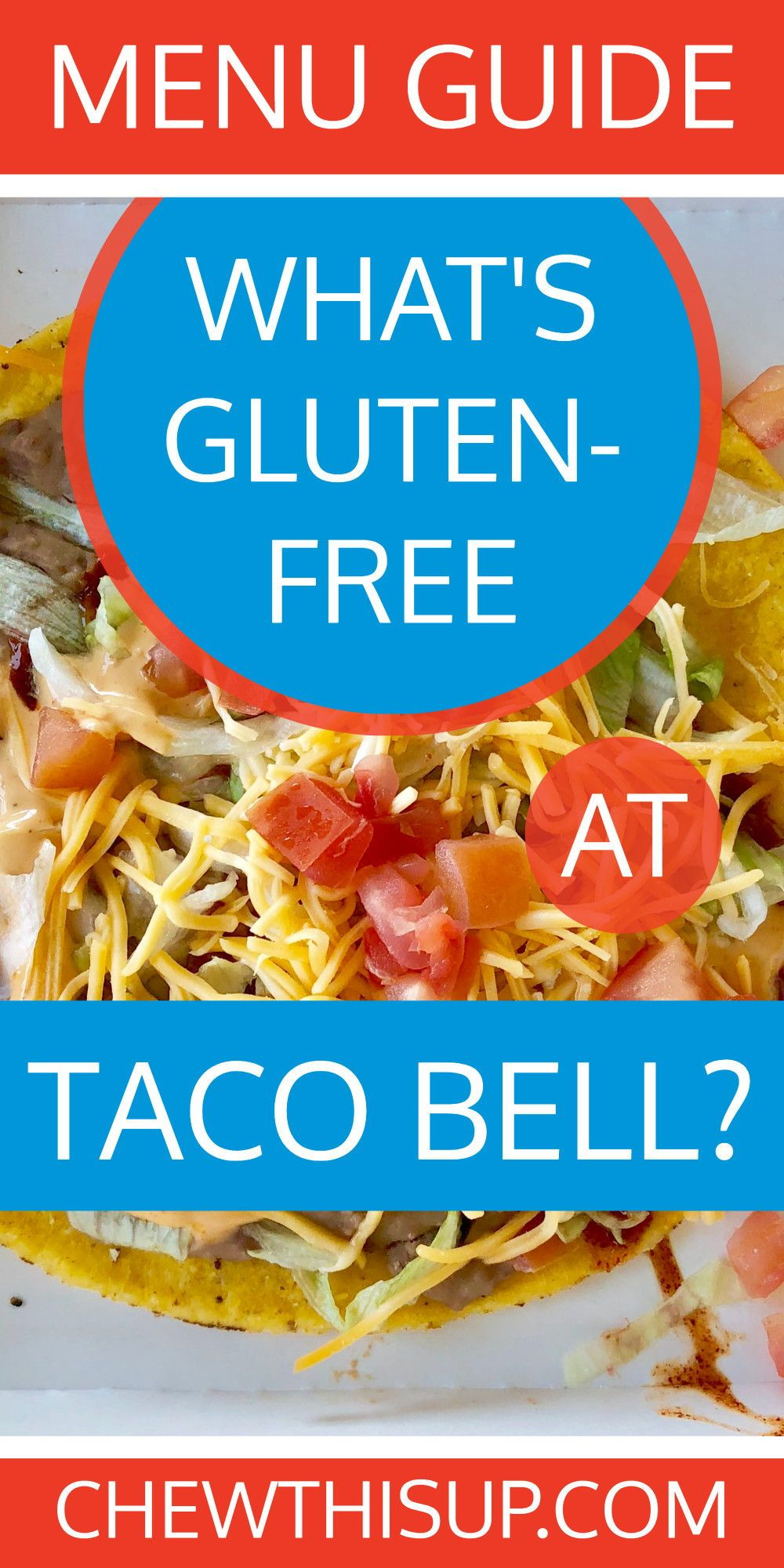 what is gluten free from taco bell