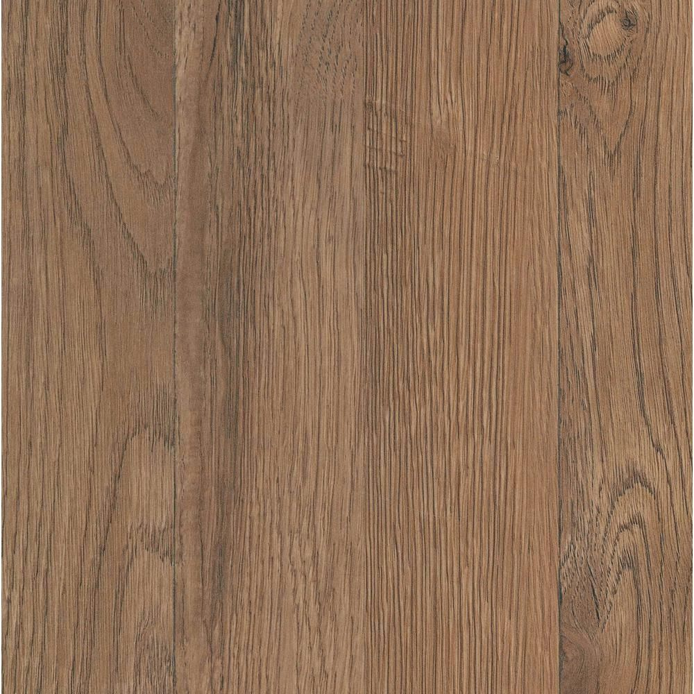 Trafficmaster Ember Oak 7 Mm Thick X 7 To 2 3 In Wide X 50 To 4 5 In Length Laminate Flooring 24 24 Sq Ft Case 45669 The Home Depot Oak Laminate Flooring Oak Laminate Flooring