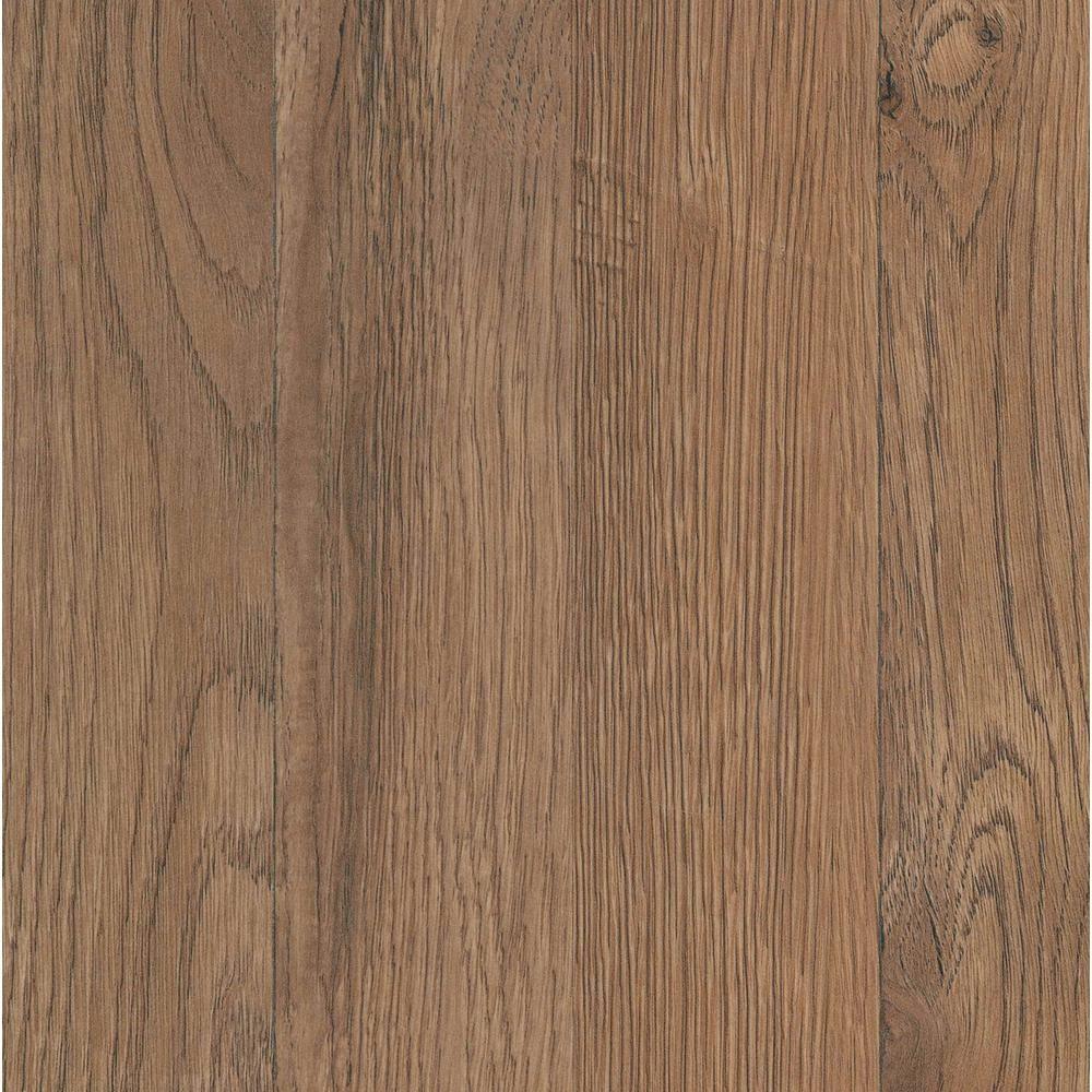 Trafficmaster Ember Oak 7 Mm T X 7 To 2 3 In W X 50 To 4 5 In L Laminate Flooring 24 24 Sq Ft Case Oak Laminate Flooring Flooring Laminate Flooring