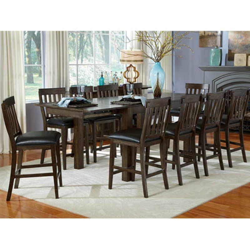 A America Mariposa 100 In Gathering Height Leg Table Mrpwg6700 Solid Wood Dining Set Large Dining Room Trestle Dining Tables