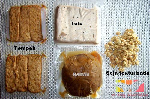 Proteinas Vegetales Tofu Tempeh Soja Texturizada Y Seitán Tofu Seitán Tempeh