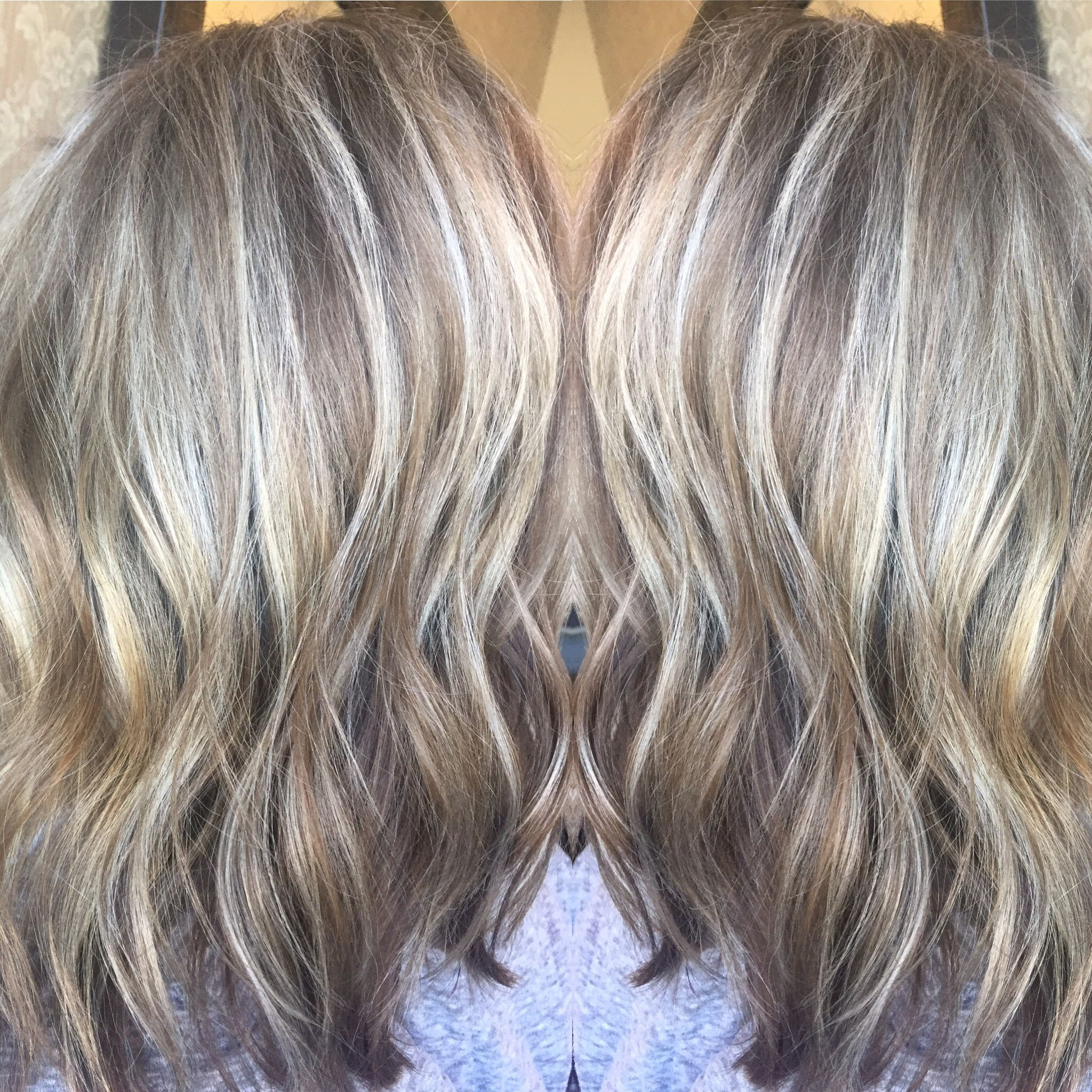 Beautiful Silver Blonde Lob Platinum Blonde Ash Blonde Light