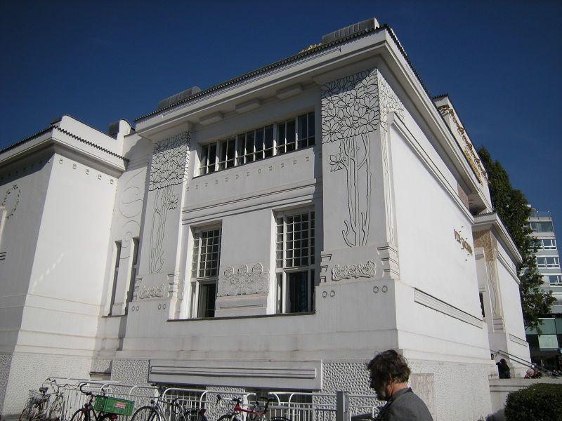 Immeuble Sécession Vienne façade L\u0027Art Nouveau Pinterest