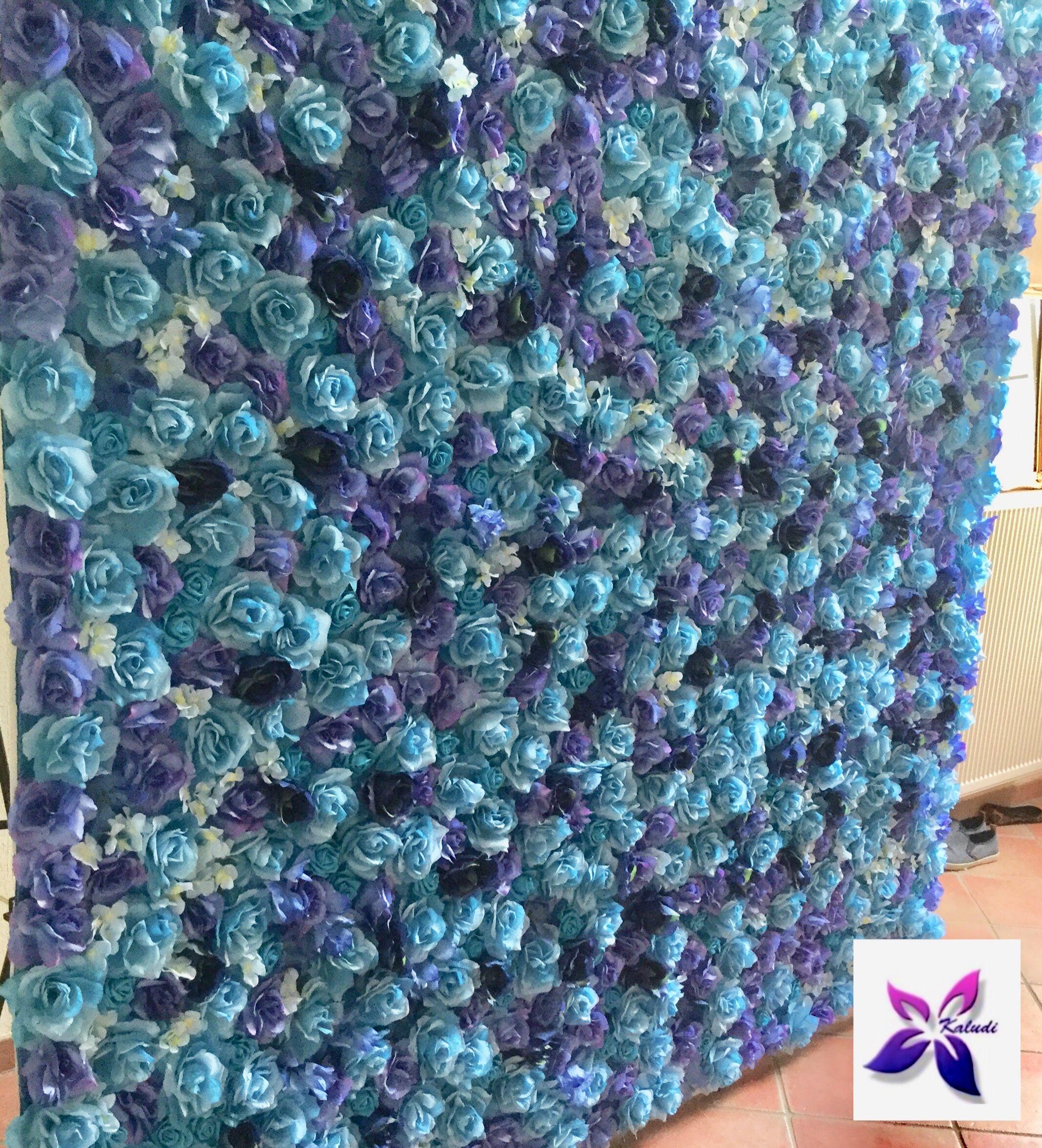 Blaue Blumenwand Fur Turkische Hochzeit Oder Beschneidungsparty
