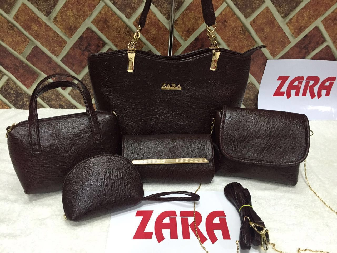 Zara Bags Combo- 4 colours Available | Branded Products For Sale ...