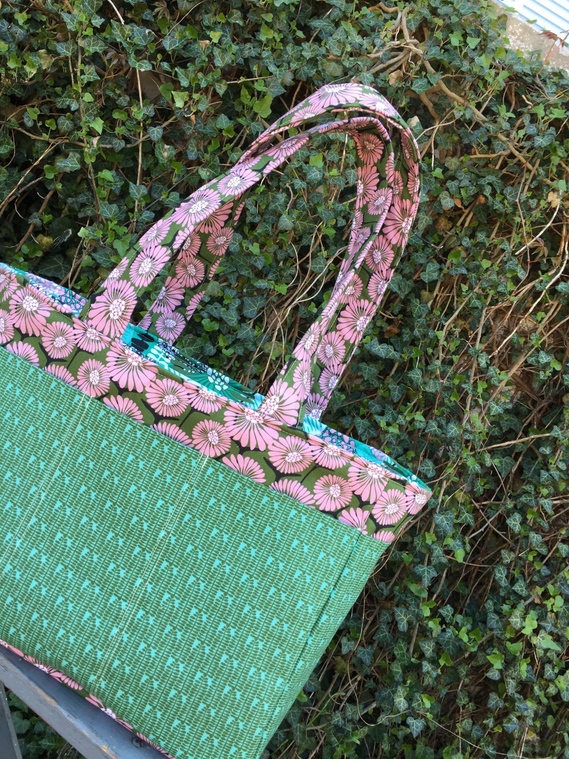 How to sew the Ultimate Tote Bag Diy purse patterns, Diy