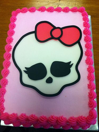 Monster High Cake By Dpasteles Shop San Antonio TX Via Flickr