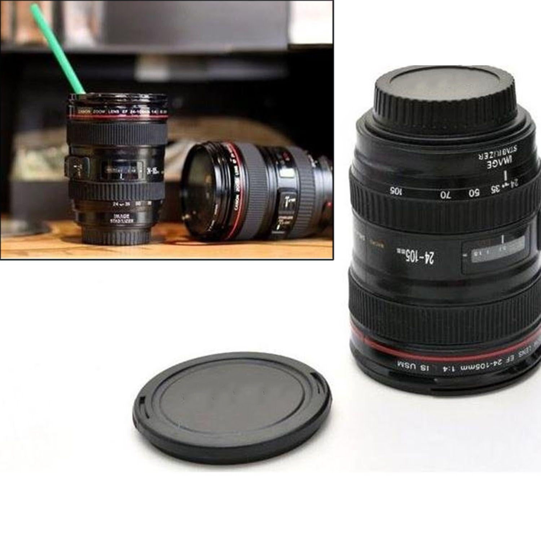 Copos E Canecas Para Sublimacao Brand Logo Thermo Coffee Tea Camera Lens  Mug Cup Caniam Caneca