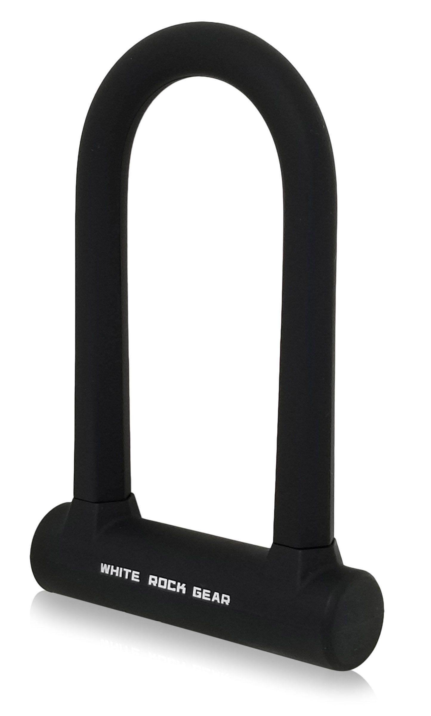 White Rock Gear Ulock Bike Lock By Heavy Duty 16mm Steel With 45