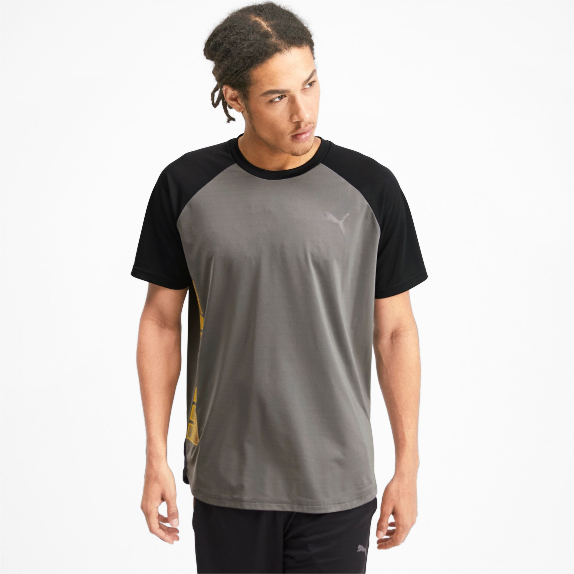PUMA Collective Loud Men's T-Shirt, Grey, size X Small, Clothing