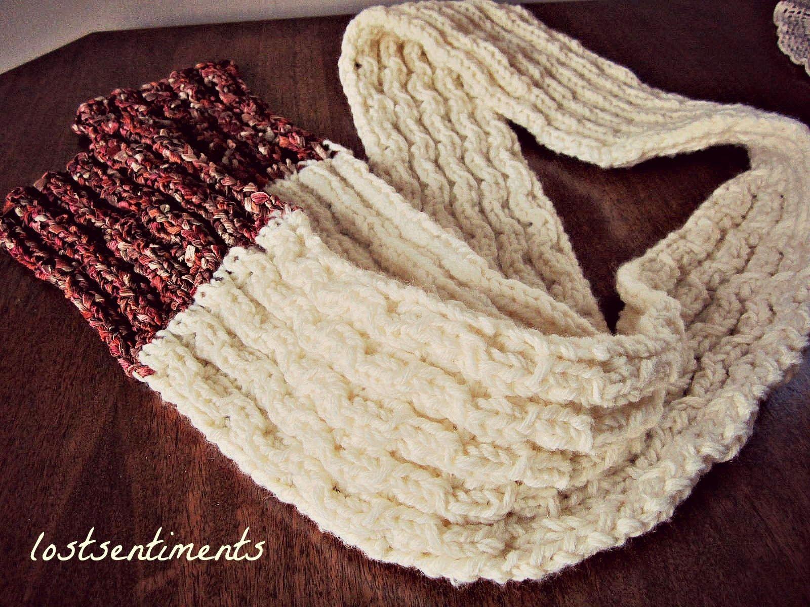 En tu marca, prepárate, ve: cómo hacer una bufanda en 1 noche ...
