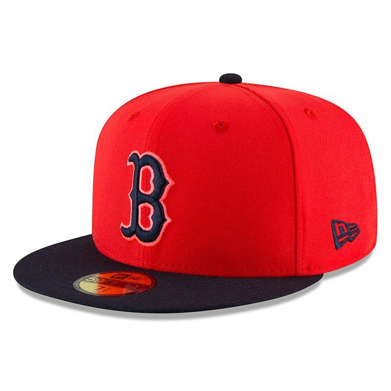 61788d61470 Boston Red Sox New Era Youth 2018 Players  Weekend On-Field 59FIFTY Fitted  Hat – Red Navy