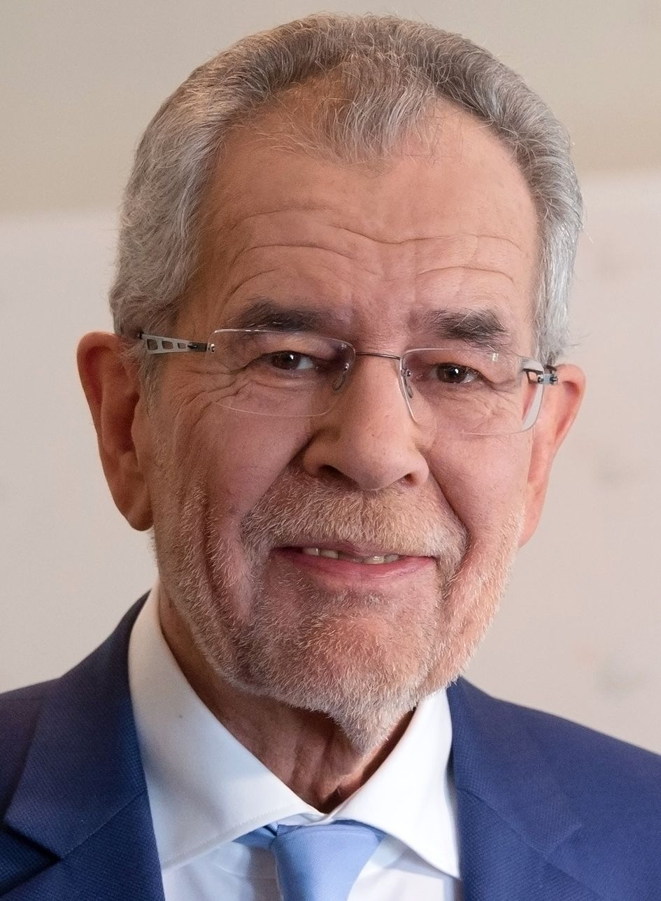 Alexander Van Der Bellen Austria President Austria Pinterest