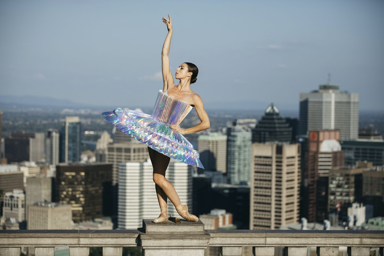 Canadian Duo Creates LifeSize Origami Costumes for Ballet