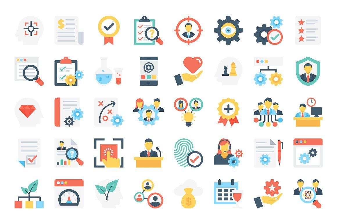 370 flat business icons icon flaticon icons icon pack