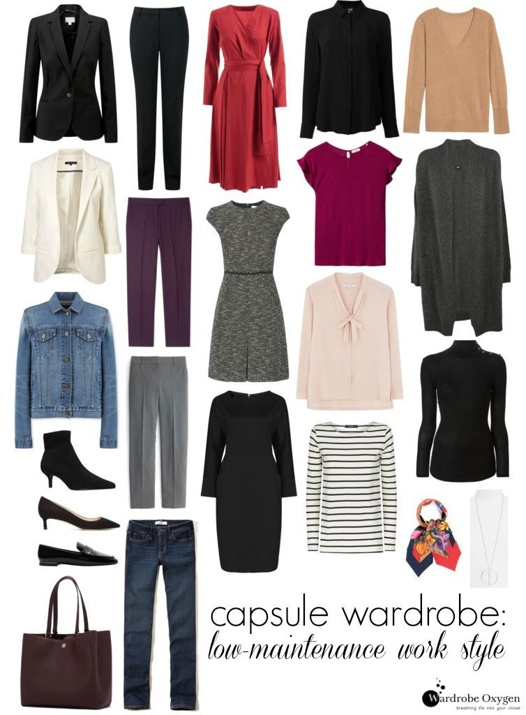 Capsule Wardrobe: Low-Maintenance Office Style