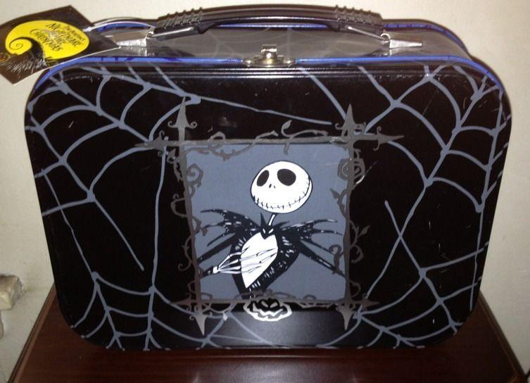 Very Rare Nightmare Before Christmas Tin Goth Lunch Box   Nightmare before christmas, Nightmare ...