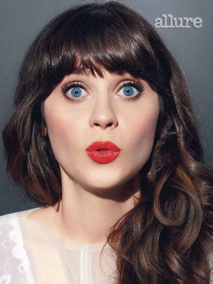 Zooey Deschanel Her Allure Photo Shoot Hair Beauty Zoey Deschanel Beauty