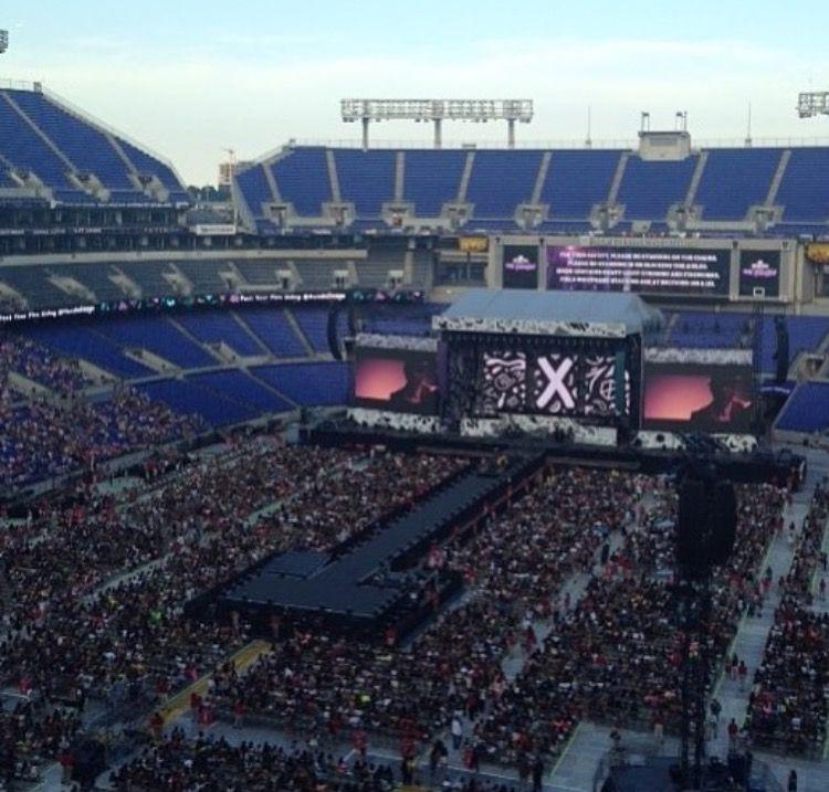 stadium in baltimore. august 8, 2015