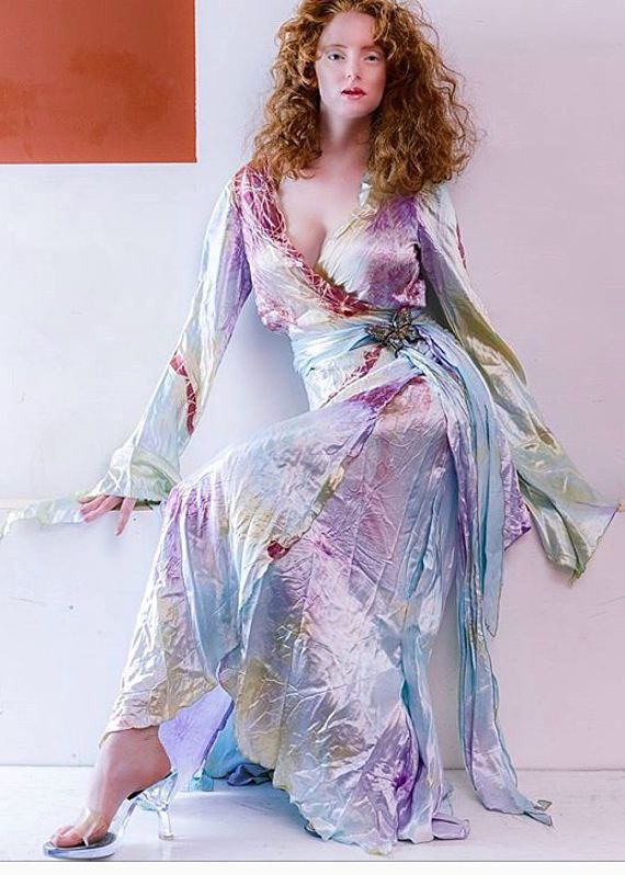 Opalescent Long Wrap Dress Boho Chic Bridal Gowns Mother Of Mother