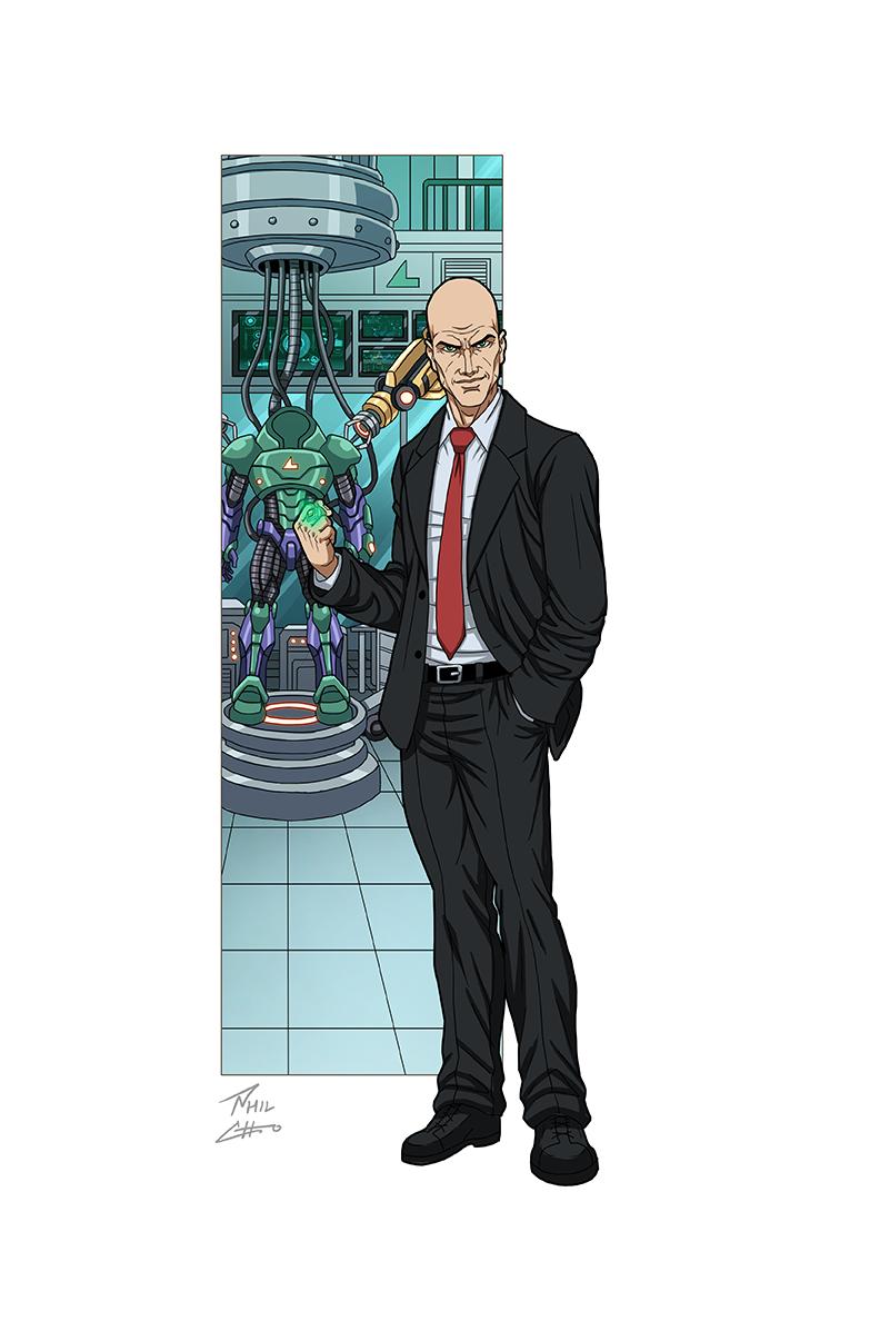 Lex Luthor By Phil Cho Dc Comics Characters Superhero Comic Lex Luthor